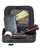 Valise de Rangement en Cuir Saco Hair