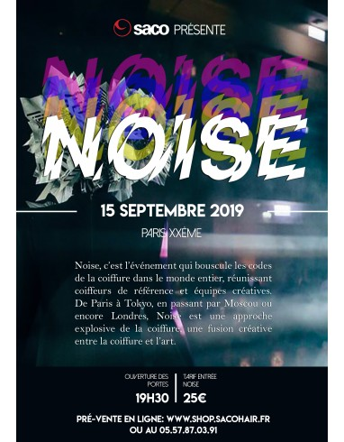 NOISE PARIS 2019