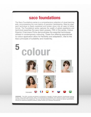 Les Fondations Couleurs , Dvd 5 Saco Hair